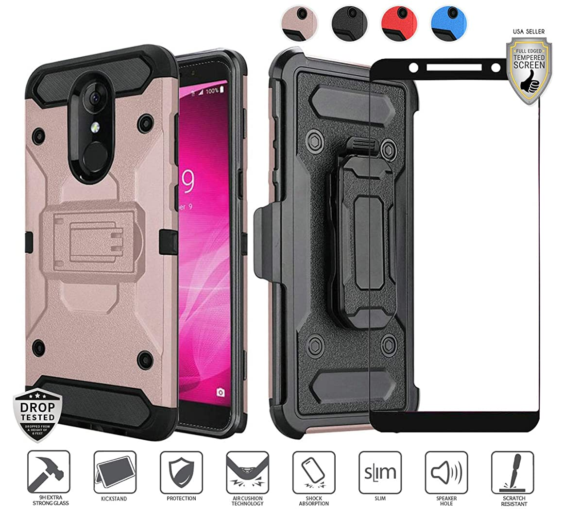 Compatible for T-mobile Alcatel Revvl 2 Case with stand (5.5