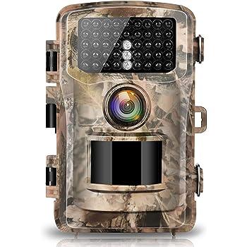 Victure Cámara de Caza Vigilancia 12MP 1080P IP66 Impermeable PIR ...