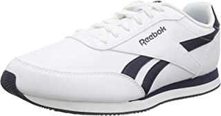 Reebok Men's Royal Classic Jogger 2L Trainers, White/Collegiate Navy
