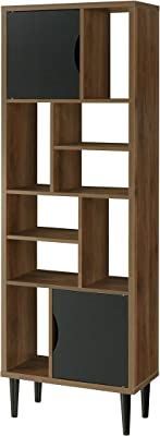 OS Home and Office Display bookcase, Danish Walnut