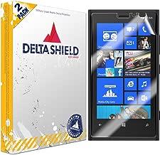 DeltaShield Screen Protector for Nokia Lumia 920 (2-Pack) BodyArmor Anti-Bubble Military-Grade Clear TPU Film
