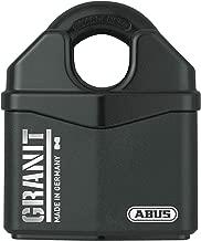 ABUS 79172 37RK/80 mm 花岗岩挂锁,黑色