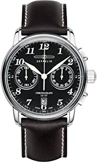 Zeppelin Watches Men's Quartz Watch 7678-2 with Leather Strap