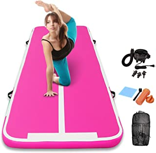 Sponsored Ad - Track Air Mats Gymnastics Inflatable Air Tumbling Mat 10Ft 13Ft 16Ft 20Ft With Electric Air Pump For Water ...