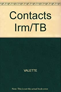 Contacts: Langue et Culture Francaises (Instructor's Resource Manual), 6th Edition