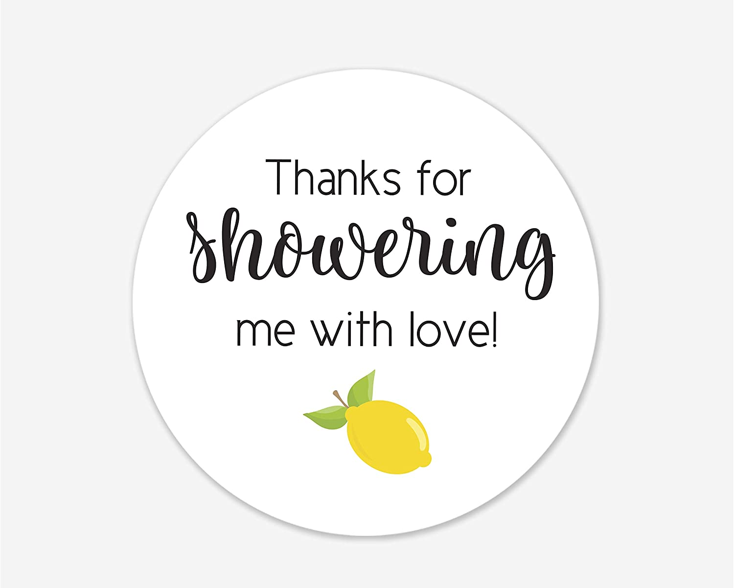 #044-SS Baby Shower Labels Baby Shower Stickers Baby Shower Favor Stickers
