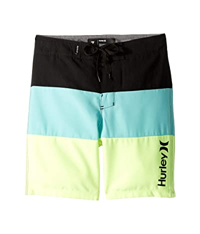Hurley Kids Triple Threat Boardshorts (Little Kids) (Tropical Twist) Boy