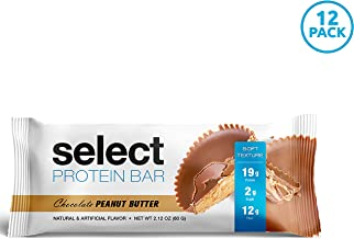 PEScience Low Carb Gluten Free Select Protein Bar Chocolate Peanut Butter Pack of 12 Estimated Price : £ 24,99