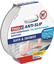 Tesa TE55533-00001-11 Cinta antideslizante 5m x 25mm transparante baño, standaard