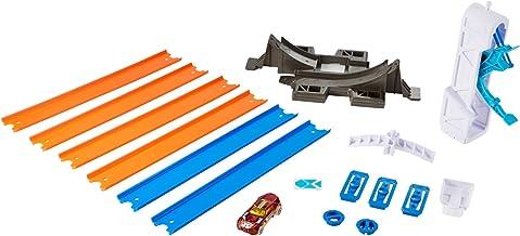 Hot Wheels DNH84 - Pista, coche  y constructor propulsores