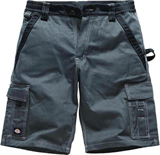 """Dickies GBK52 IN30050 Shorts Industry300Size 52 UK 36"""" in Grey/Black Industry300 New Size"""