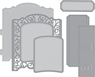 Spellbinders Shapeabilities Grand Cabinet 3D Card Etched/Wafer Thin Die