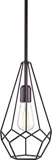 Aliria Pendant Light | Dark Bronze Pendant Lighting for Kitchen Island with LED Bulb LL-P635-6DB