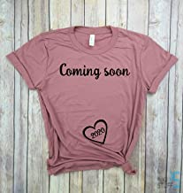 Coming Soon 2020 - Pregnancy Shirt, Mom to Be, Pregnancy Reveal, New Mom Shirt, Pregnancy Announcement Shirt, Est 2020.