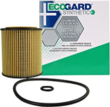 ECOGARD S5505 Cartridge Engine Oil Filter for Synthetic Oil - Premium Replacement Fits Mazda 6, 3, 5, CX-7, Tribute / Ford Fusion, Escape / Mercury Mariner, Milan