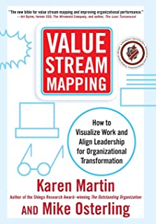 value stream mapping lean office