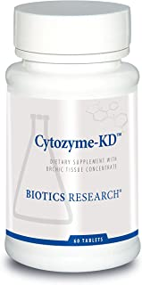 Biotics Research Cytozyme KD Neonatal Kidney, Supports Renal Health, Healthy Blood Pressure, SOD, Catalase, Potent Antioxi...