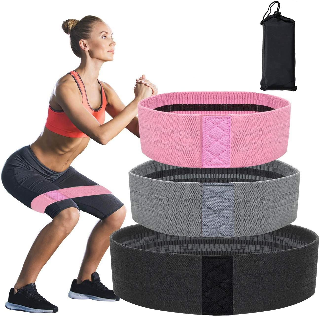 Max 67% OFF Resistance Bands for Legs and Butt Limited price - Non Ela Exercise Slip