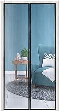 wolketon Magnetisch vliegengaas, deur, insectenwering, 120 x 240 cm, automatisch sluiten, voor balkondeur, kelderdeur, ter...