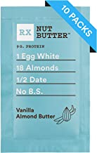 RX Nut Butter, Vanilla Almond Butter, 1.13 Ounce (Pack of 10)