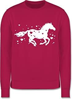 Shirtracer - Pferd mit Herzen - Kinder Pullover