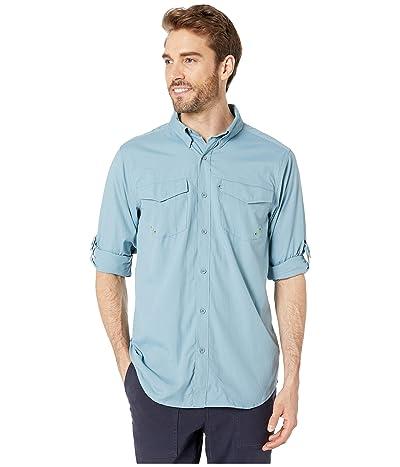 ExOfficio Estacado Long Sleeve Shirt (Citadel) Men