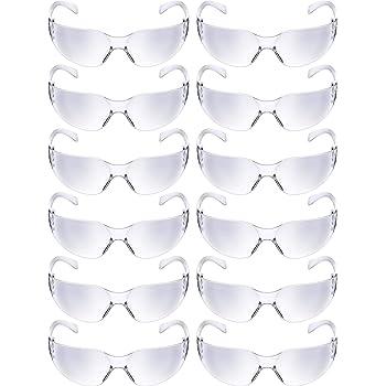 Honeywell A805 A800 Series Eyewear Fog-Ban Anti-Fog Coating Thomas Scientific Clear Lens Pack of 10