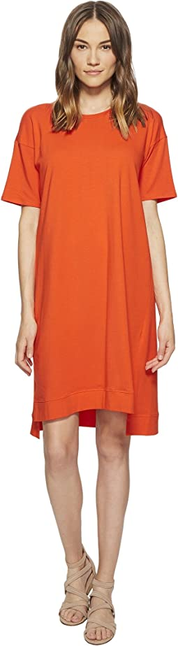 Eileen Fisher Organic Cotton Jersey A-line Dress