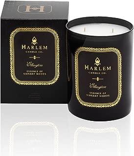 Harlem Candle Company Ellington Luxury Candle, Double Wick, 12 oz Jar Candle