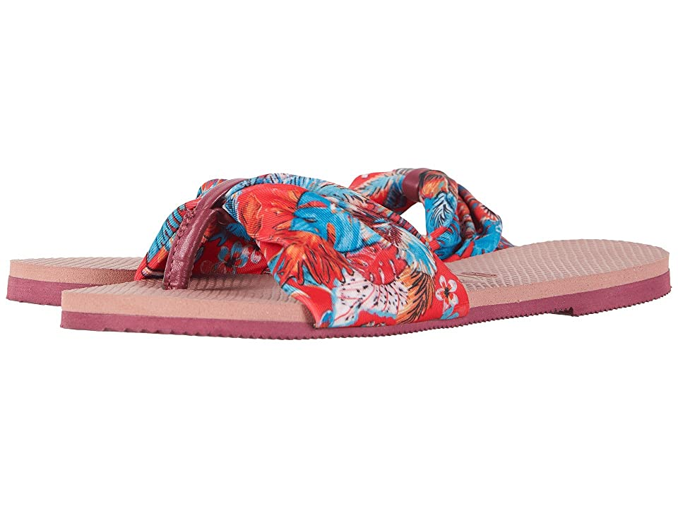 Havaianas You Saint Tropez Sandals (Crocus Rose) Women