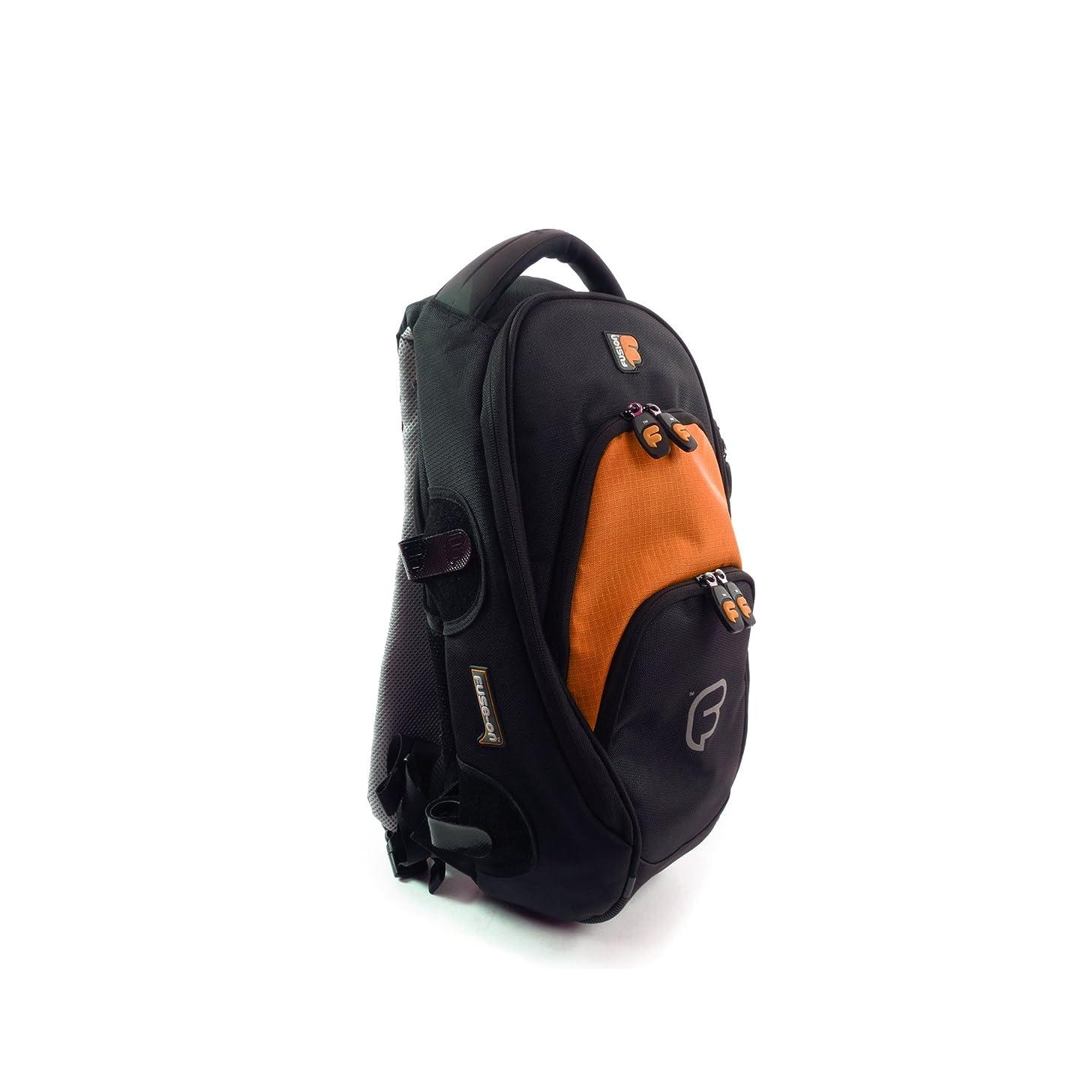 Fusion FB-PA-01-O Premium Series - Medium Backpack, Black/Orange