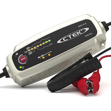 Ctek MXS 5.0 Chargeur de Batterie 12 V avec Compensation Automatique de la Température