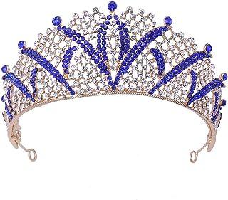 LUCKYYY Set da Sposa Corona Diamante Corona Corona Corona Corona Corona Accessori da Sposa