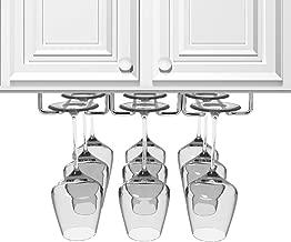 Best wood wine glass rack under cabinet Reviews