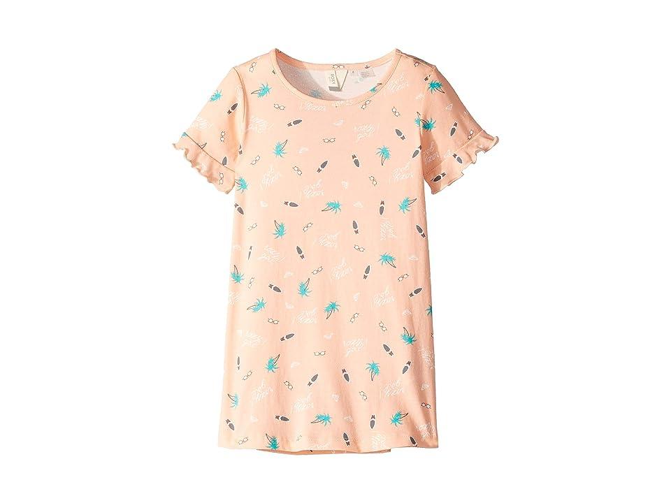 Roxy Kids Second Sun T-Shirt Dress (Toddler/Little Kids/Big Kids) (Salmon Summer Hobbies) Girl