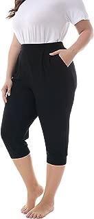 Best plus size capri joggers Reviews