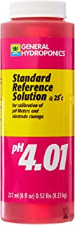 General Hydroponics GH1541 PH 4.01 Calibration Solution for Gardening, 8-Ounc, 8 Ounce, Natural