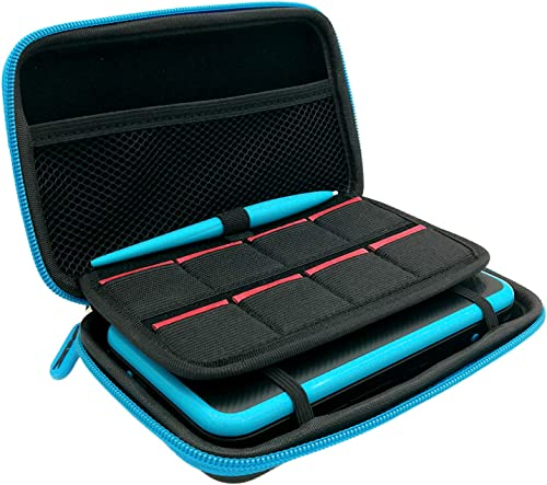 3 in 1 Case Compatible for New 2DS XL,Carrying Case Compatible for Nintendo 2DS XL with Stylus, 2 Screen Protector Fi...