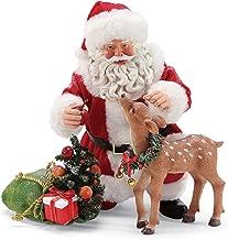Department 56 Possible Dreams Santa Apple for You Figurine, 9 Inch, Multicolor