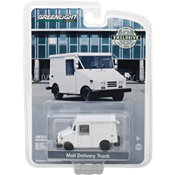 Mail Delivery Vehicle weiss Maßstab 1:64 NEU!° Greenlight 30097 Postauto