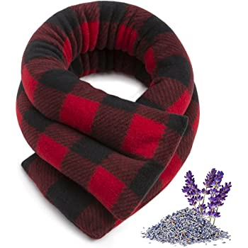 Heating Pad Therapeutic Pad Red and Black Buffalo Check Corn Neck Wrap Heating Bag 24inx4in Ice Pack