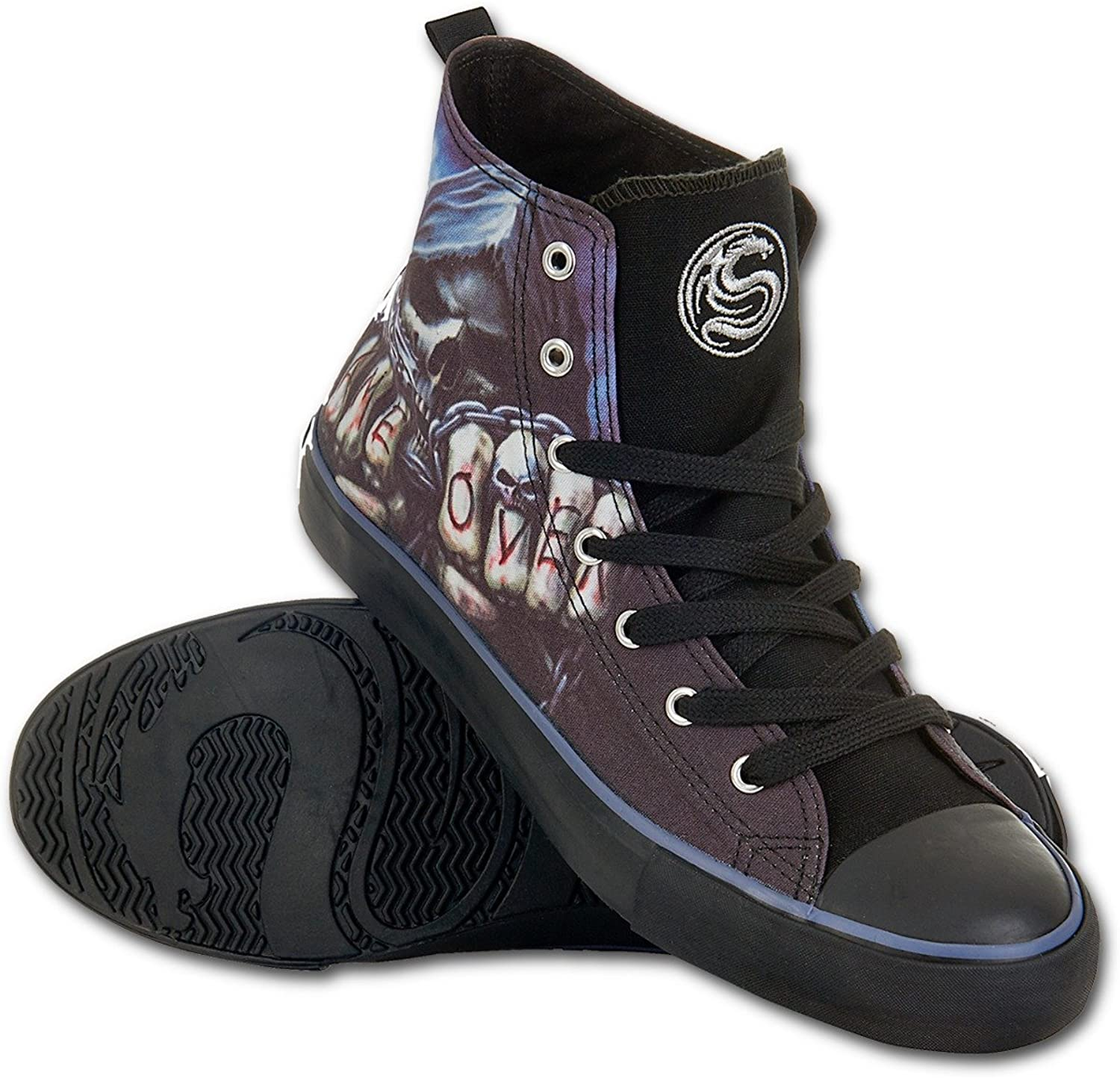 Spiral Mens - Game Over - Sneakers - Men's High Top Laceup