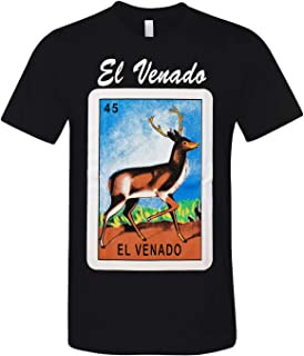 DOBY Mexican Bingo Inspired Art Novelty Funny Graphic T-Shirts