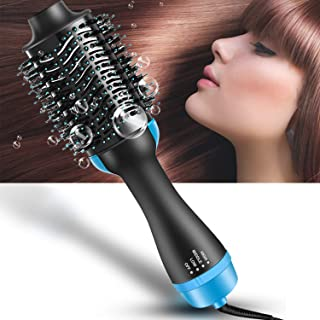 cordless rotating hair brush