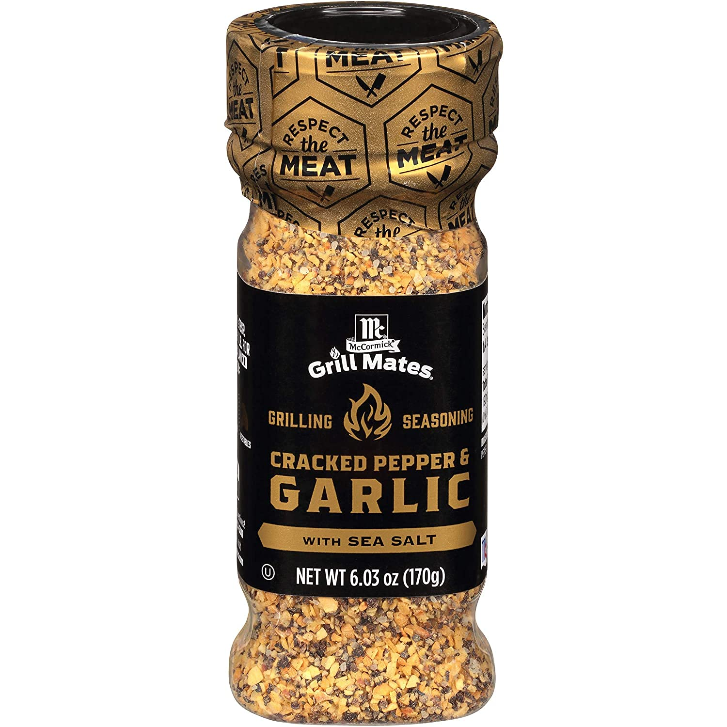 Max 78% OFF McCormick Grill Mates Cracked Pepper Garlic with Sea New product Gril Salt