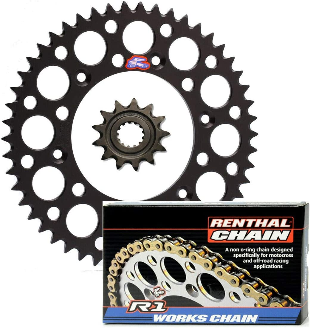 Renthal Grooved Front Ultralight Free Shipping New Seattle Mall Rear Works R1 Sprockets MX