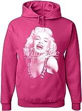 blonde sweatshirt pink