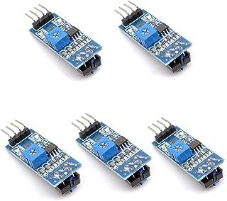 Oiyagai 5PCS TCRT5000 infrarossi riflettente modulo sensore IR barriera linea pista fotoelettrico interruttore