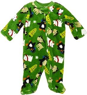 Strampler Plüsch Schlafanzug Junge Winter Rentier Eisbär Baby Blanket Sleeper Pajama Boy