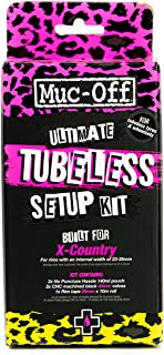 Muc Off Ultimate Tubeless Setup Kit for Tubeless Ready Bikes, X-Country - Includes Rim Tape, Seal Patches, Tubeless Valves...